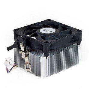 AMD 1A02C3W00 Socket FM1/AM3+/AM3/AM2+/AM2/1207/940/939/754 Aluminum Heat Sink & 2.75'' Fan w/4-Pin Connector up to 100W