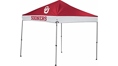 NCAA Instant Pop-Up Canopy Tent with Carrying Case, 9x20