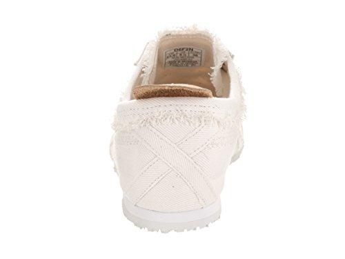 Onitsuka Tiger Mens Mexico 66 Fashion Sneaker Bianco / Bianco Leggero