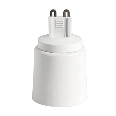 YiLighting - (G9 to E26/E27), G9 Plug-in Base to E26/27 Edition Screw Base Socket Converter For Halogen/LED/CFL Light Bulbs (3 Pack) - - Amazon.com