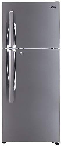 LG 260 L 4 Star Frost Free Double Door Refrigerator(GL-I292RPZL.APZZEBN, Shiny Steel, Inverter...