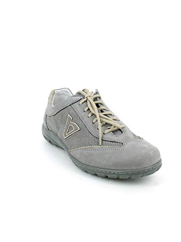 Valleverde Grigio Forato Nabuk In sneaker rqtIr
