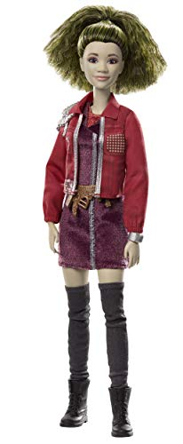 """Disney Zombies 2, Eliza Zombie Doll (11.5inch) Wearing GrungyCool Outfit and Accessories, 11 Bendable """"Joints,"""" Great Gift for Ages 5+"""