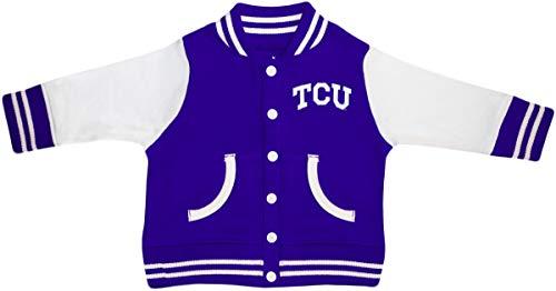 (Texas Christian University Varsity Jacket Purple)