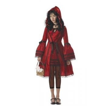 [California Costumes Girls Tween Red Riding Hood Costume, Large] (Halloween Jasmine Costume)
