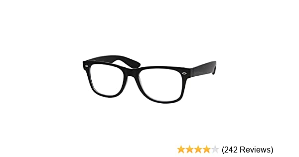 6715e284df7 Amazon.com  High Magnification Power Readers Reading Glasses 4.00-6.00 Black 4.00   Clothing