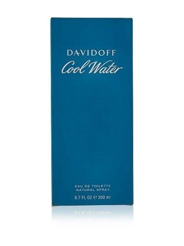 Davidoff Cool Water Eau de Toilette Spray for Men, 6.7 Ounce (Davidoff Cool Water Eau De Toilette Spray 200ml)