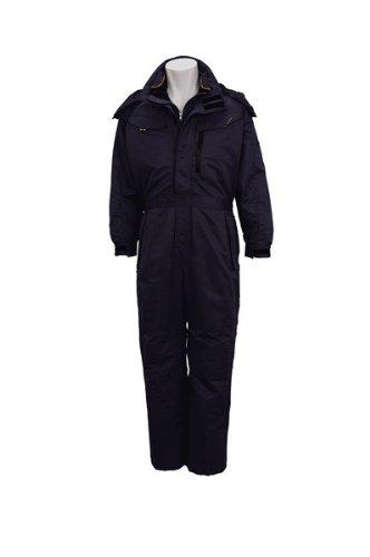towa(トウワ)防寒つなぎ 防寒ツナギアウトドアワーク タフな性能 撥水加工 tw-7620 B008PPJKYO M|ネイビー ネイビー M