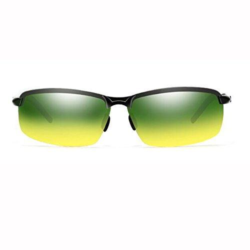 de Aire Noche 1 Y UV masculinas ZX Color Sol Día Gafas sol gafas 400 Viaje Dual De Polarizado Hombres Al Conductor Uso Sombra ZX 2 Lente Libre 1qq85x