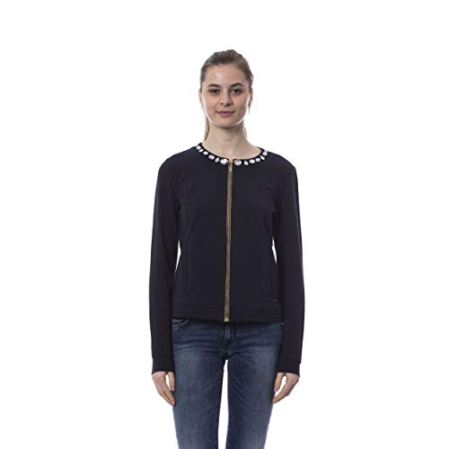 Navy v By Women Blouse F e Francesca Versace n0HxEzWa