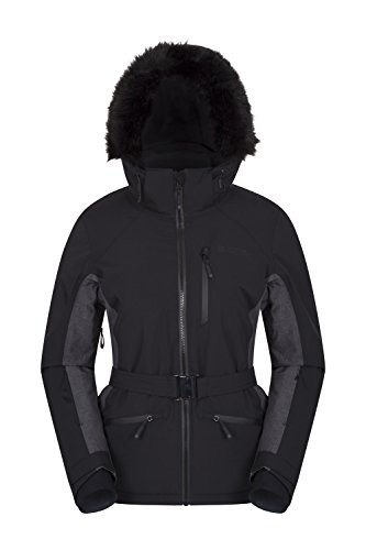 Mountain Warehouse Snow Burst Womens Extreme Ski Jacket Black 6