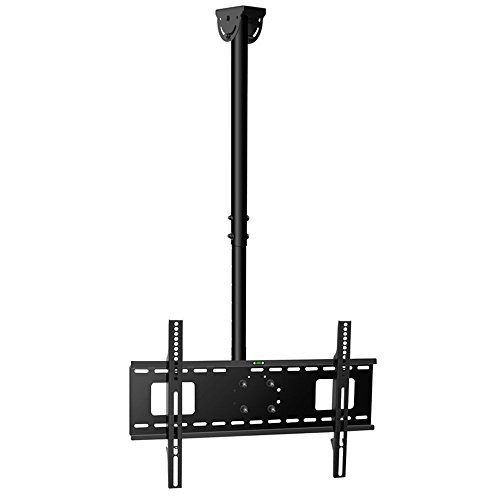 Vemount Adjustable Ceiling TV Mount Tilt & Rotating Bracket for 32 39 40 42 43 48 50 55 60 65 Plasma LCD LED Plasma Monitor Flat Panel Displays Smart TV,VESA 200x200 300x300 400x400 600x400