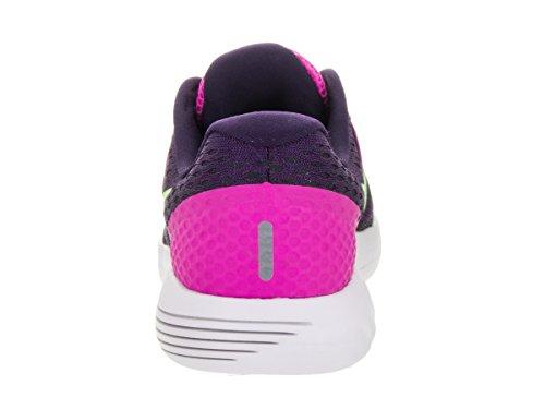 NIKE Damen Lunarglide 8 Laufschuh Pink Blast / Summit Weiß-Anthrazit