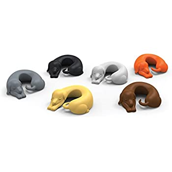 Fred WINER DOGS Dachshund Dog Drink Markers, Set of 6