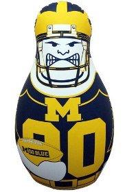 Michigan Wolverines Wolverines Tackle Buddy B001J2RGRS Punching Bag Tackle B001J2RGRS, 美想心花:8ebfebb0 --- capela.dominiotemporario.com