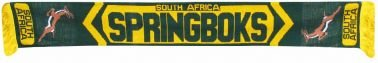 - South Africa Springboks Rugby Scarf