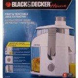 Black & Decker Fruit & Vegetable Juicer Extractor Black Decker Fruit Vegetable Juice Extractor