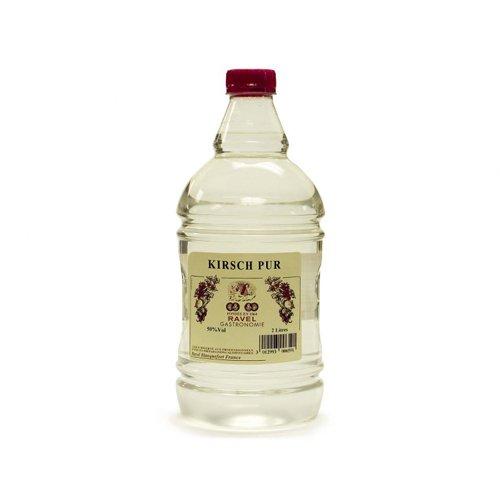 Kirsch Brandy - Kirsch/Liquid Gel - 50% Vol. Pastry Cooking Alcohols - 2 Liter