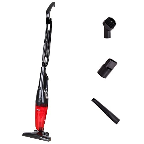 Duronic [Black] VC6 /B [ A Class] Bagless Upright Handheld Stick Vac / Vacuum Cleaner - FREE brush Head & Crevice Tool - Convert from Upright to Hand Held in Seconds! - INCLUDES 2 Years Warranty