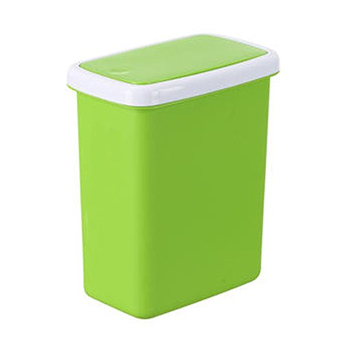 Green Kitchen Bin: Compare Price: Covered Kitchen Trash Bin