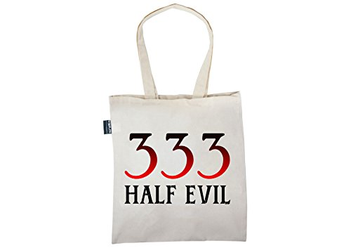 333 women Tote Bag for stl4 bag Shopper 5 Funny Unique Gifts bags Styles Funny Evil Tote 16S6A