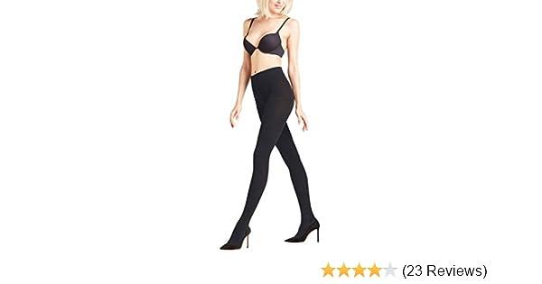7f55c17ed3681 Falke Women's Soft Merino Wool-Cotton Sweater Tight, Black, Large/44-46 at  Amazon Women's Clothing store: