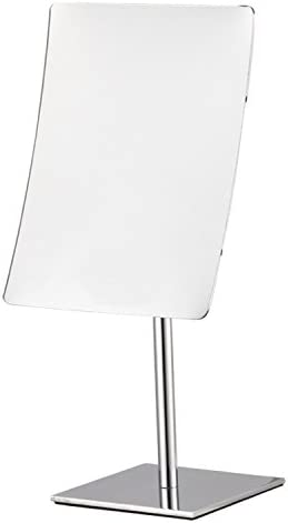 Nameeks AR7728 Glimmer Rectangular 3x Magnification Makeup Mirror, Chrome