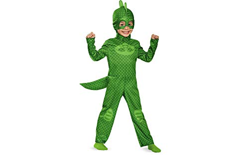 Disguise Gekko Classic Toddler PJ Masks Costume, Medium/3T-4T by Disguise