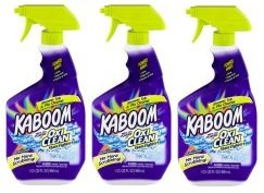 Kaboom with The Power of Oxi Clean Stain Fighters Shower, Tub & Tile Cleaner, 32.0 FL OZ (Pack of 3)