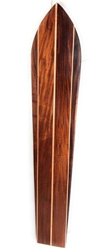 Triple Stringer Koa Surfboard 72'' X 13.5'' Hawaiian Vintage | #koalb15 by TikiMaster
