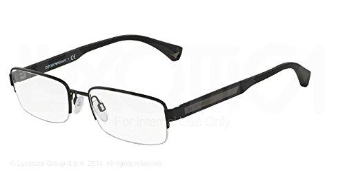 Emporio Armani EA 1029 Men's Eyeglasses Matte Black - Glasses Armani Prescription Emporio