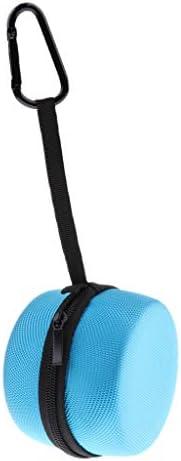 Studio Headphone Carrying Case Storage Box Audio Cable Travel Bag Zipper Bag - Blue / Studio Headphone Carrying Case Storage Box Audio Cable Travel Bag Zipper Bag - Blue