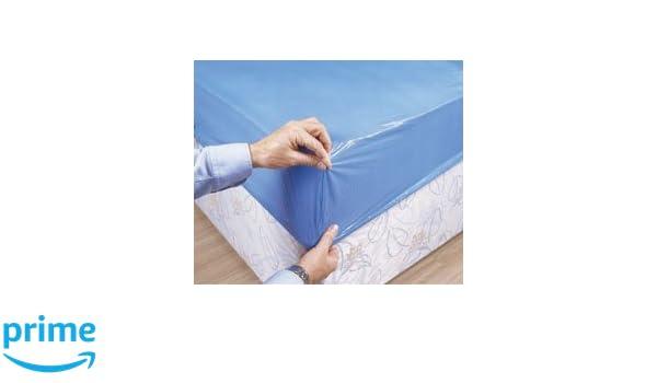 Premier - Lote de 10 cubrecolchones impermeables deshechables, 90 x 210 x 20 cm, color azul: Amazon.es: Electrónica