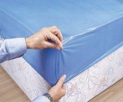 Coprimaterasso Usa E Getta.Shermond Protezione Per Materasso Impermeabile Usa E Getta Confezione Da 10 Pezzi 90 X 210 X 20 Cm Colore Blu