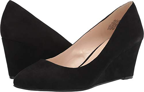 Nine West Women's iSpy Black 8 M US (West Shoes Wedge Nine 8 Woman)