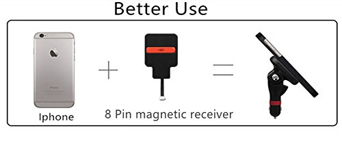KINGTON Type C Wireless Charging Receiver QI Magnetic Charging Receiver Micro Type-C Module Patch Wireless Charger For Android Smartphones OnePlus 3,OnePlus 2,LG G5,Nexus 6P,HTC 10,Huawei P9