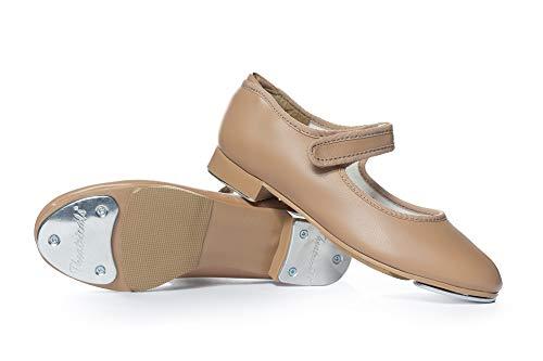 Theatricals Child Easy Strap Tap Shoes T9050CTAN11.0M Tan 11 M US Little Kid