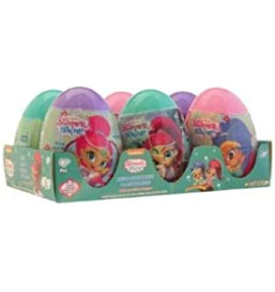 Shimmer and Shine Mega Huevo/Mega Egg Surprise Shimmer and Shine 6pz