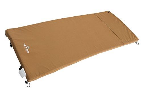 Teton Sports Camp Pad Camping Sleeping Pad Or Mat Canvas