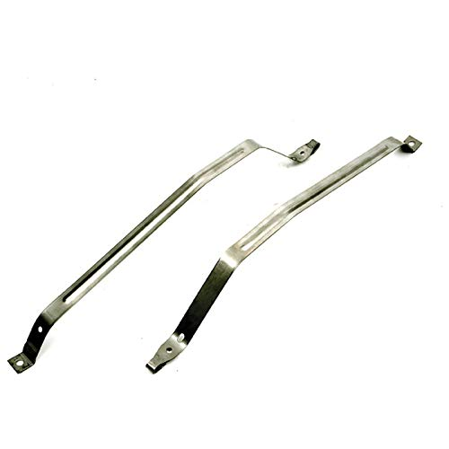 Eckler's Premier Quality Products 33256721 Camaro Gas Tank Mounting Straps Stainless Steel (Tank Strap Camaro Fuel)