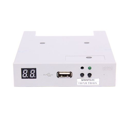 Baoblaze SFRM72-FU 720KB USB Converter Diskette Floppy Drive Adapter 720K Floppy Disk by Baoblaze (Image #7)