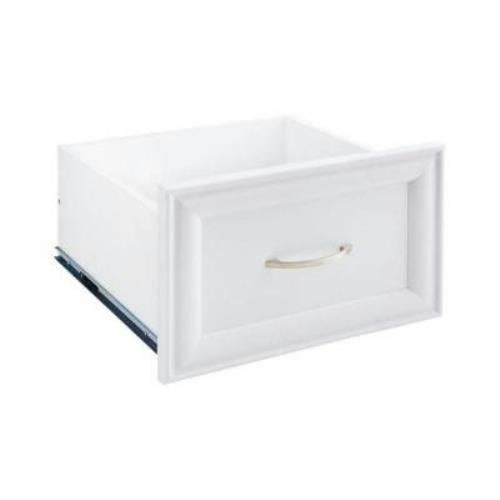 Review 16 in. x 10 in. White Decorative Drawer By ClosetMaid by ClosetMaid