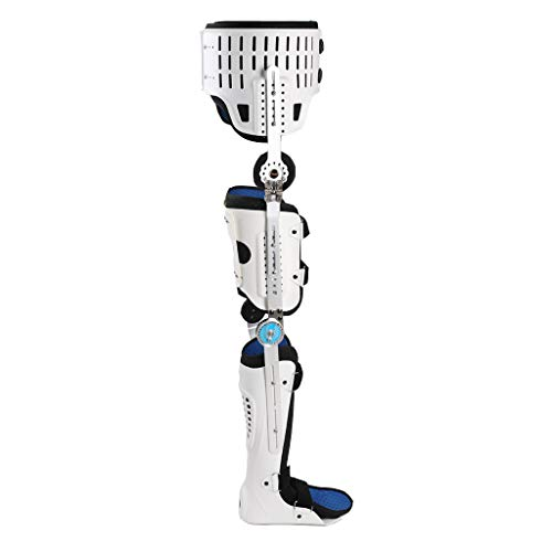 ROMX Hip Abduction Orthosis,Knee Ankle Foot Orthosis Brace, Both Sides Hip Knee Ankle Foot Orthosis, Hip Fracture Preoperative and postoperative Fixation