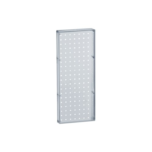 Azar 770820 Pegboard 1-Sided Wall Panel, Clear Translucent Color, 2-Pack ()