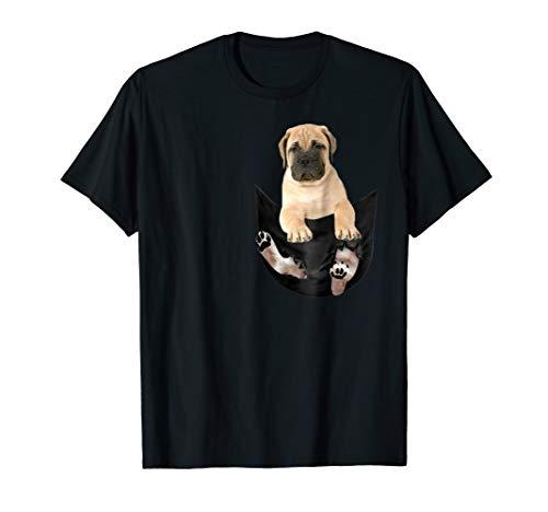 Bullmastiff Pocket Puppy T-Shirt - Bullmastiff Dog Lover