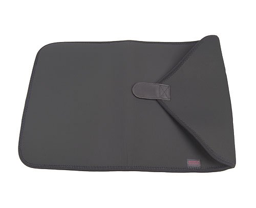 OP/TECH USA 4901172 Computer Sleeve (17-Inch Black), Neoprene Protective Pouch with Full-Flap Closure