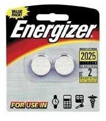 Energizer - Lithium Batteries 3.0 Volt For CR2025/DL2025/LF1/3V (2 Pack, Total 4) (Cr2025 Coin Lithium Cell)