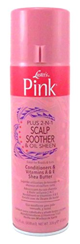 Lusters Pink Scalp Soother Oil Sheen Spray 14 Ounce 414ml 6 Pack