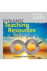 BIG IDEAS MATH: Common Core Dynamic Teacher Resource DVD