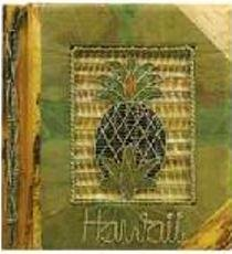 - Hawaiian Photo Album Green Leaf Pineapple 12